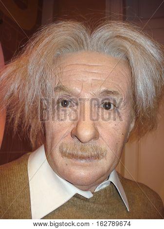 Albert Einstein, The Scientist, At The Madame Tussauds