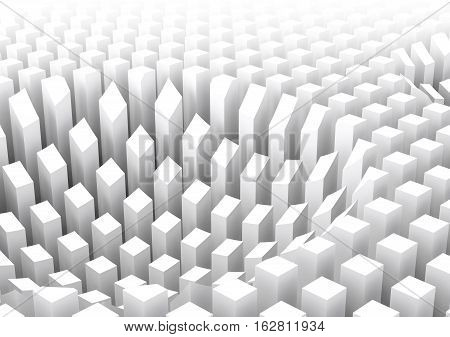 Abstract Digital Background Pattern 3D