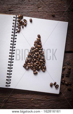 Caffee Beans Christmass Tree