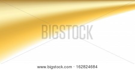 Gold White Background
