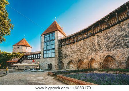 The Former Prison Tower Neitsitorn In Old Tallinn, Estonia. Maiden Tower