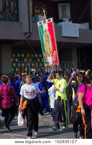 Feast Of Our Lady Of Guadalupe In Mexico City
