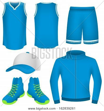 Vector Illustration of Sports Apparel. Best for Basketball, Sport, Clothing, Design Element concept.