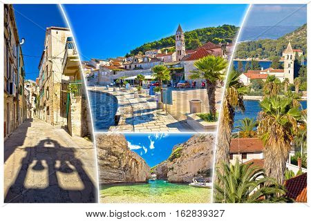 Island Of Vis Tourist Postcard