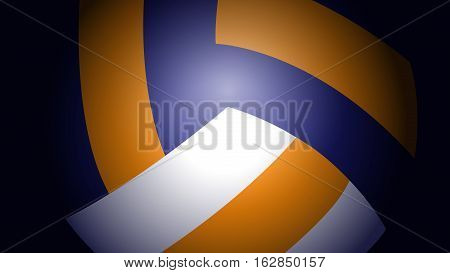 Vector Illustration of Volleyball Abstract Background. Best for Sport, Backgrounds, Design Element concept.