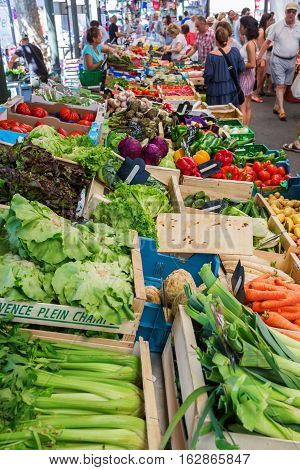 Provencal Market In Cannes, French Riviera, France