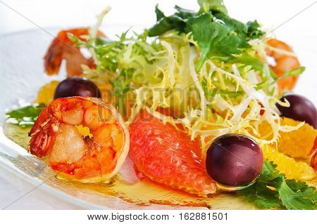 still life of healthy and delicious food. restaurant serving
