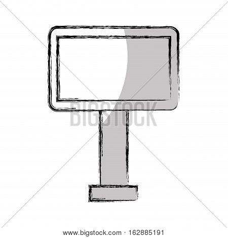 big hoarding isolated icon vector illustration design