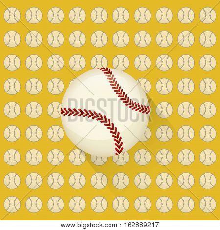 baseball ball icons icon vector illustration graphic design