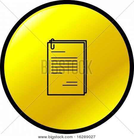 documents with paperclip button
