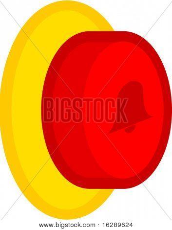 door bell button