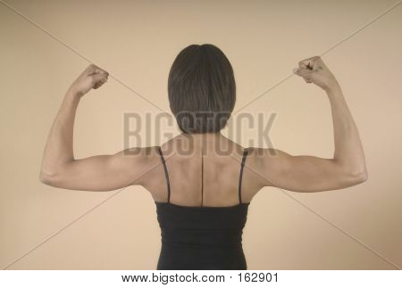 Strong Shoulders And Arms