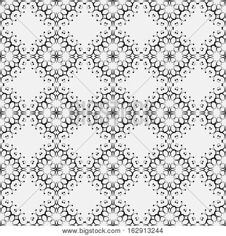 Vector Seamless Pattern. Modern Decorative Design Template. Creative Intricate Background.