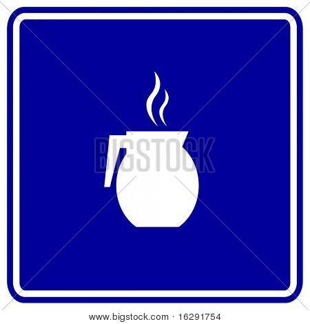 coffee jar sign