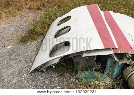Airplane Wreckage Windows Parts