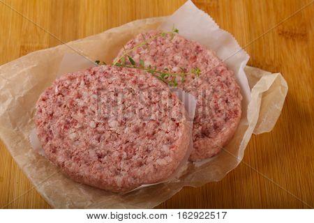 Raw Pork Cutlets