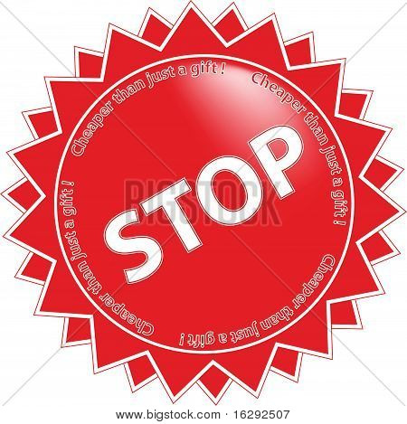 Label Stop