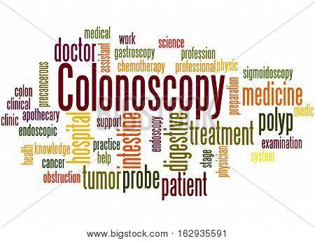 Colonoscopy, Word Cloud Concept 4
