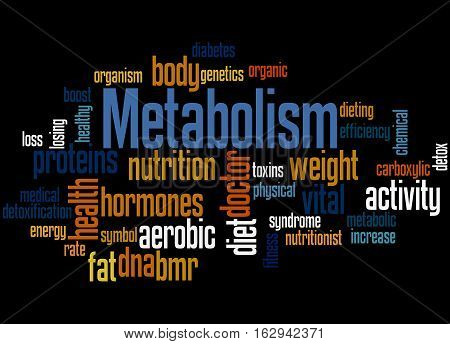 Metabolism, Word Cloud Concept 5