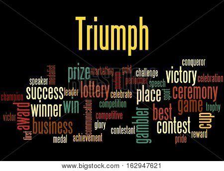 Triumph, Word Cloud Concept 4