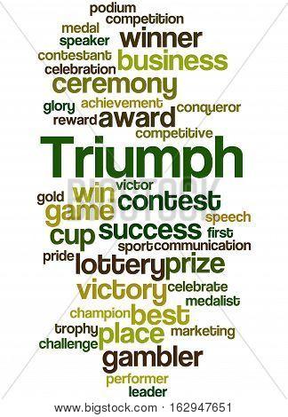 Triumph, Word Cloud Concept 5