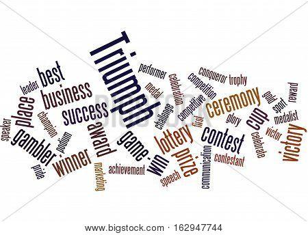 Triumph, Word Cloud Concept 9