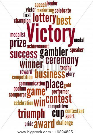 Victory, Word Cloud Concept 3