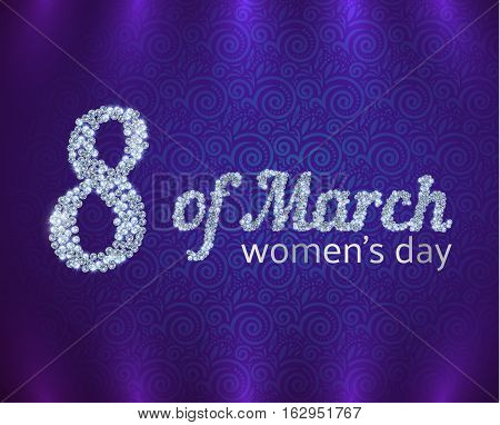 Greeting Card On International Womens Day