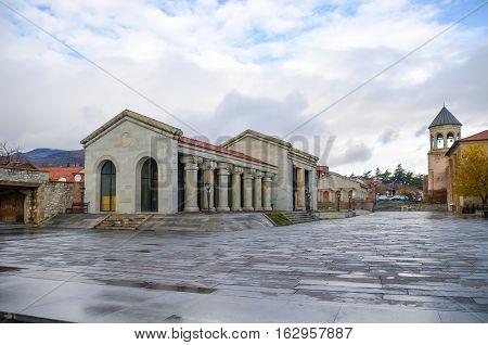 Historical Mtskheta Is Located Near Tbilisi.