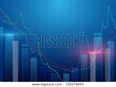 Abstract background. Stock Market background. Business concept design