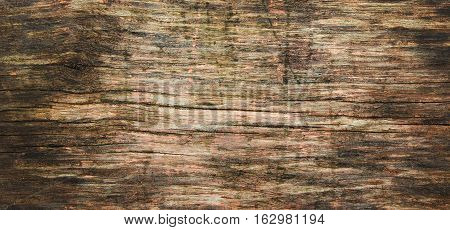 not very old wooden texture with deep fissures