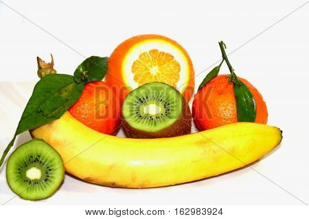Tropical fruit. Beautiful, bright, delicious fruit. Always decorate the holiday table. And it is very useful.