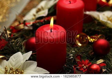 Internationally Holidays / Advent / Advent is a season observed in many Western Christian churches as a time of expectant waiting and preparation for the celebration of the Nativity of Jesus at Christmas.