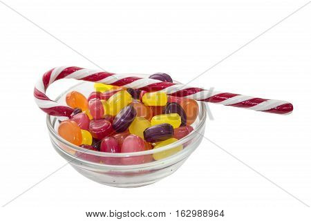 Candy also called sweets or lollies is a confection that features sugar as a principal ingredient.