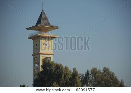 Clock tower at the Adana city center