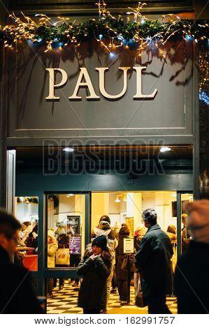 Paul Boulangerie In France