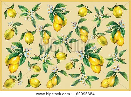 aquarelle, art, background, branch, citric, citrus, craft, decorating, decoupage, design, draw, flower, food, frame, fresh, freshness, fruit, green, hand, herbal, illustration, ingredient , isolate, isolated, juicy, leaf, lemon, lemonade, lemons, lime, li