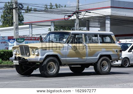 Old Jeep Private Car.