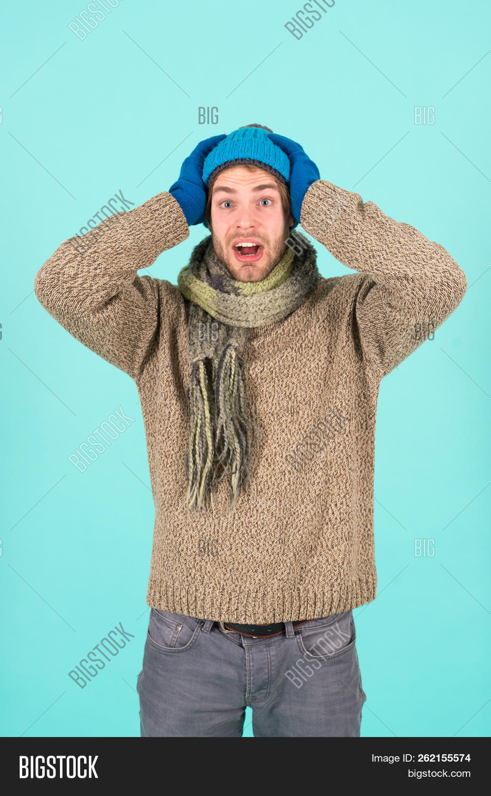 3ce1851dc Knitted Accessories Image   Photo (Free Trial)