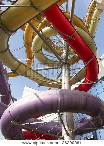 Aquapark chutes 1020_09