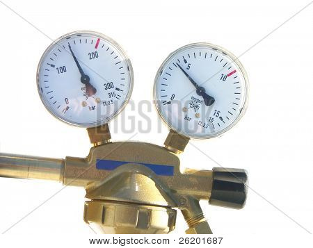 gas cylinder pressure gauges