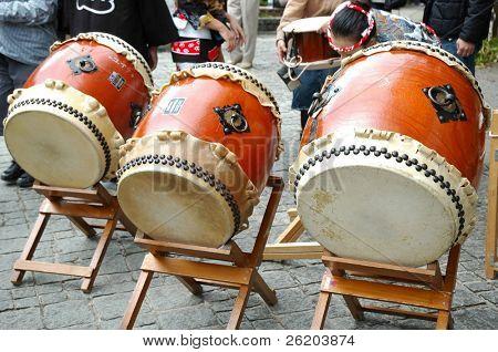 Japanese Drum known as Taiko