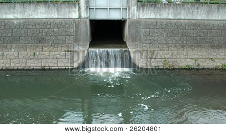 Drainage System Outflow