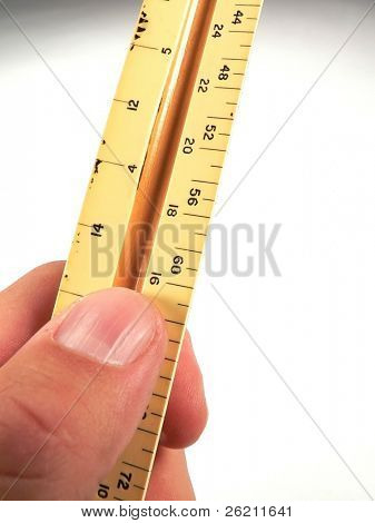 Handheld Ruler to measure success, room for copy