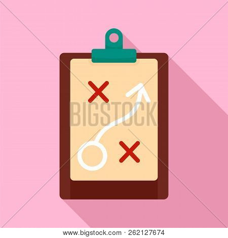 Decision Strategy Icon. Flat Illustration Of Decision Strategy Vector Icon For Web Design