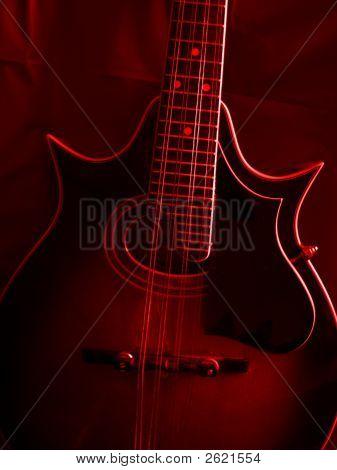 Mandolin - Red