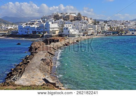 Summer View Of Chora Town