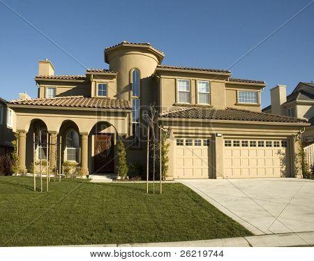 New semi custom home in Northern California