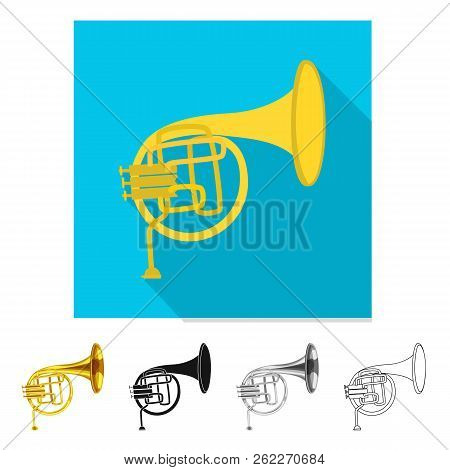 Vector Illustration Of Music And Tune Icon. Set Of Music And Tool Vector Icon For Stock.