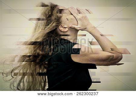 Portrait Of A One Sad Woman